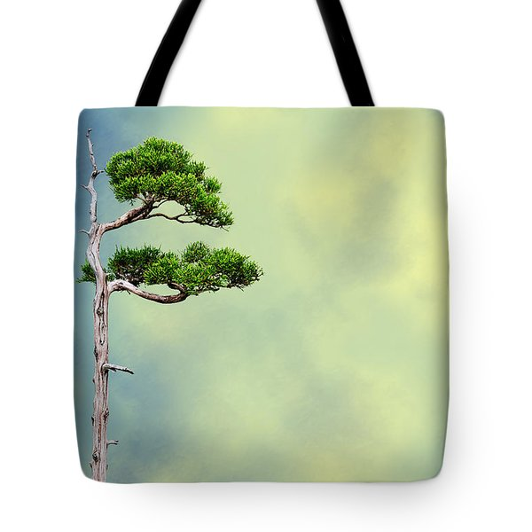 Bonsai Glow Tote Bag by John Haldane