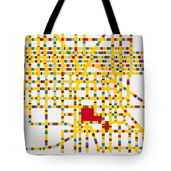 Boogie Woogie Las Vegas Tote Bag by Chungkong Art