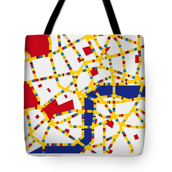 Boogie Woogie London Tote Bag by Chungkong Art