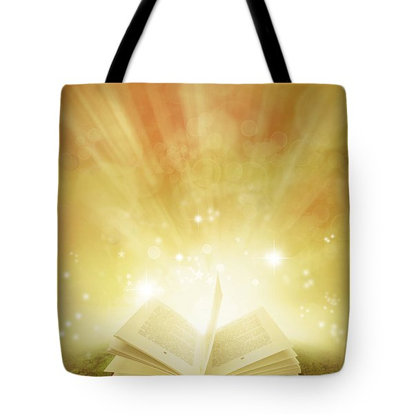 Book of dreams Tote Bag by Les Cunliffe