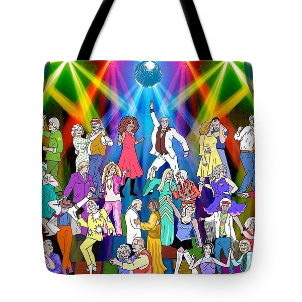 Boomer's Ball Tote Bag by Linda Mears