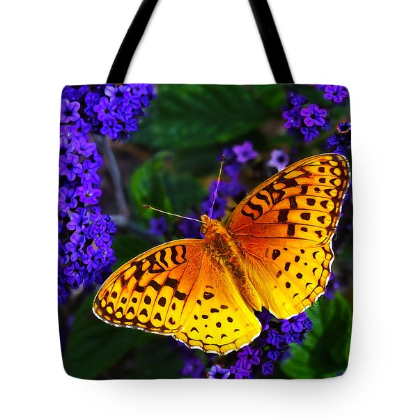 Boothbay Butterfly Tote Bag by Bill Caldwell -        ABeautifulSky Photography