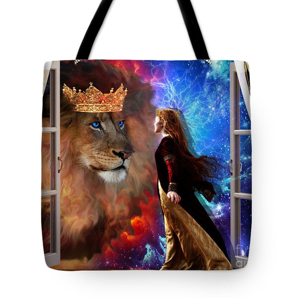 Born For Such A Time Tote Bag by Dolores Develde