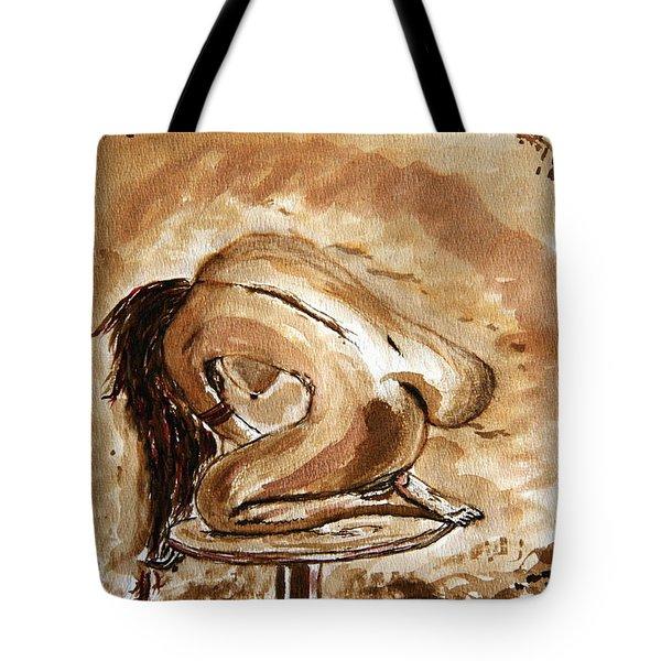 Born. Tote Bag by Shlomo Zangilevitch