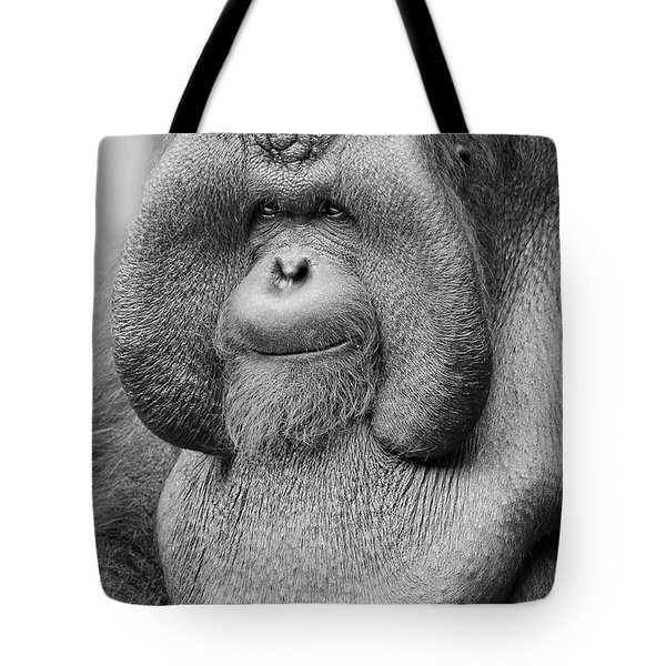 Bornean Orangutan IIi Tote Bag by Lourry Legarde
