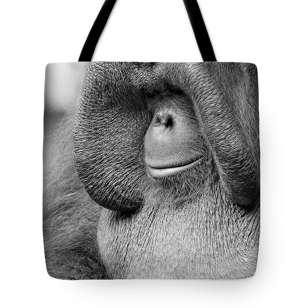 Bornean Orangutan V Tote Bag by Lourry Legarde
