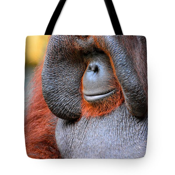Bornean Orangutan Vi Tote Bag by Lourry Legarde