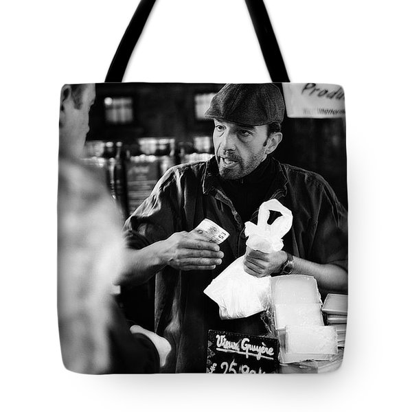 Borough Market Tote Bag by Erik Brede