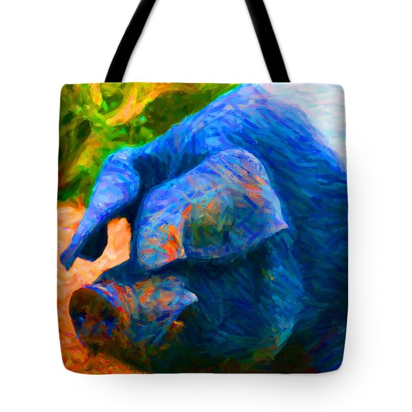 Boss Hog - 2013-0108 Tote Bag by Wingsdomain Art and Photography