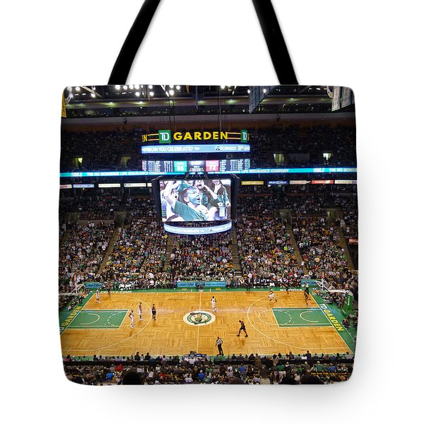 Boston Celtics Tote Bag by Juergen Roth