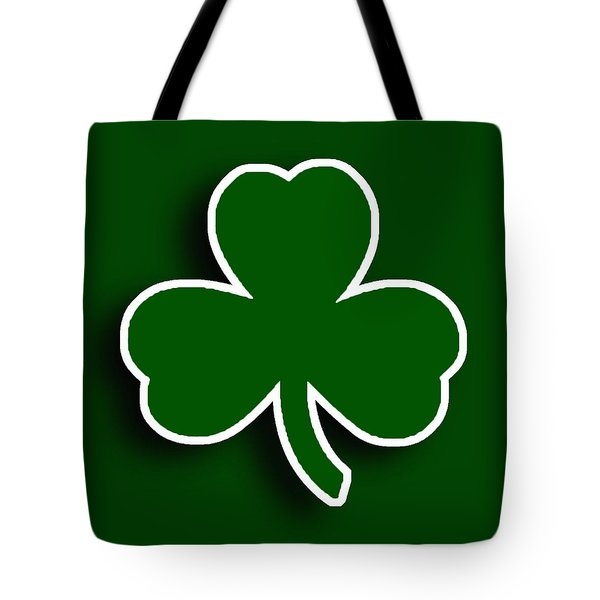 Boston Celtics Tote Bag by Tony Rubino