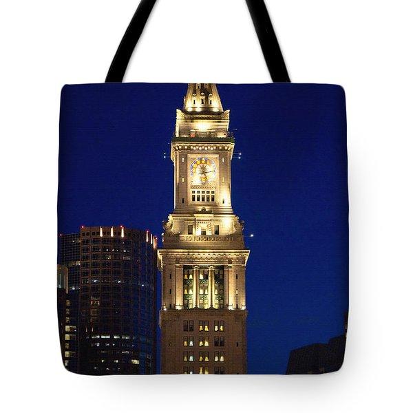 Boston Custom House Tote Bag by Joann Vitali