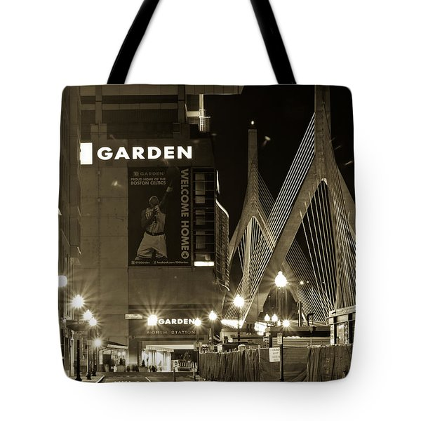 Boston Garder And Side Street Tote Bag by John McGraw