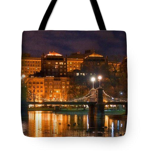Boston Lagoon Bridge 2 Tote Bag by Joann Vitali