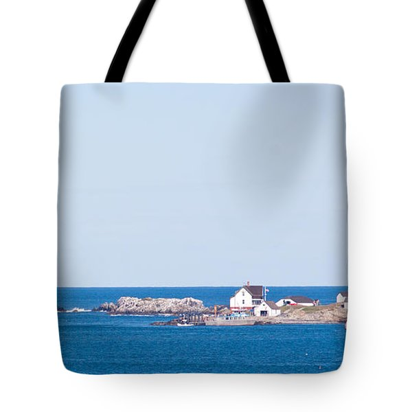 Boston Lighthouse Tote Bag by Nomad Art And  Design