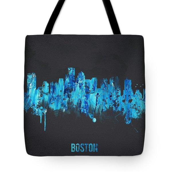 Boston Massachusetts Usa Tote Bag by Aged Pixel
