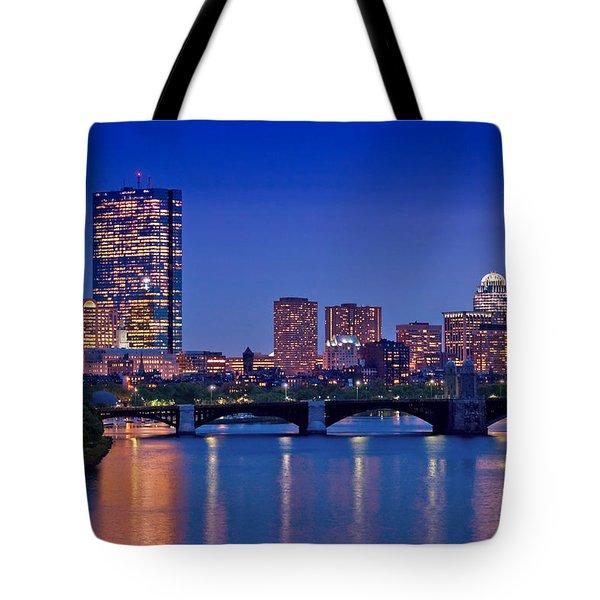 Boston Nights 2 Tote Bag by Joann Vitali