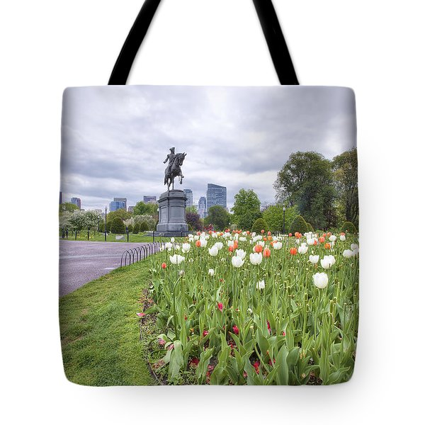 Boston Public Garden Tote Bag by Eric Gendron