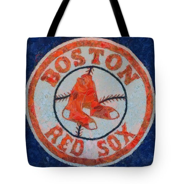 Boston Red Sox Tote Bag by Dan Sproul