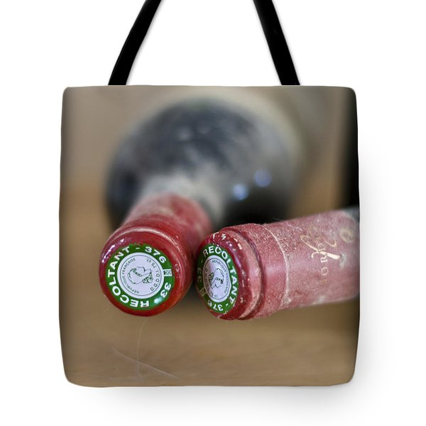 Bottle Necks Tote Bag by Nomad Art And  Design