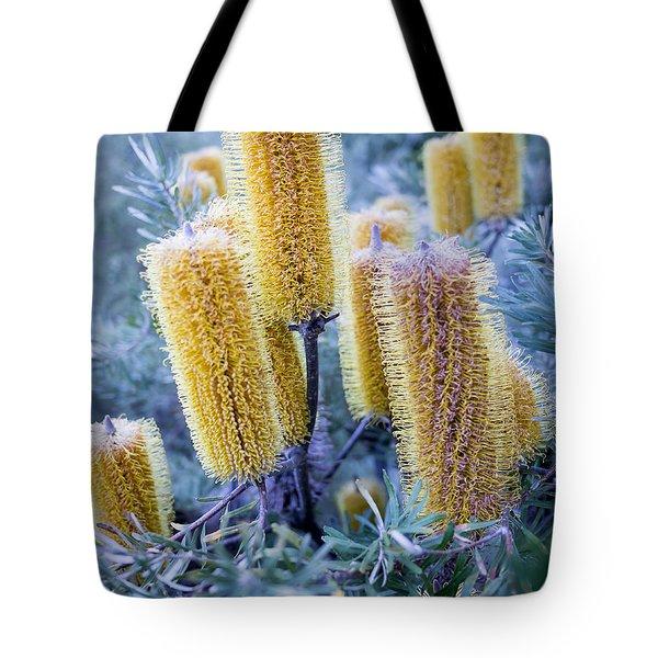 Bottlebrush Tote Bag by Steven Ralser