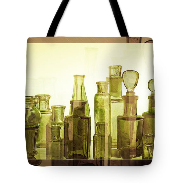 Bottled Light Tote Bag by Holly Kempe