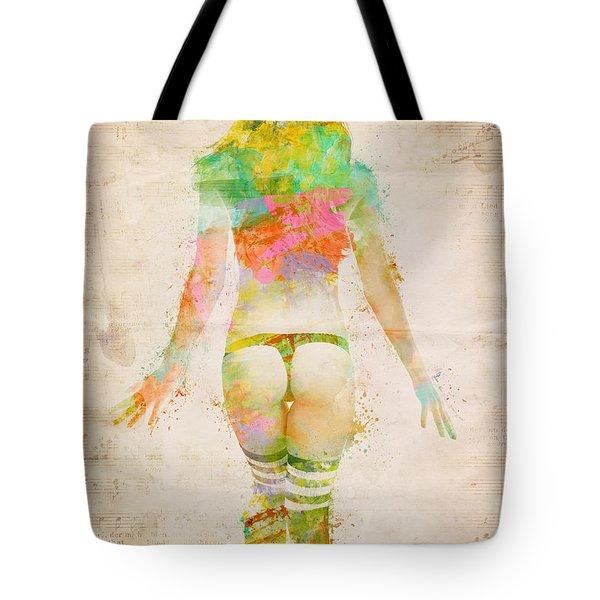 Boudoir Sonata Tote Bag by Nikki Smith