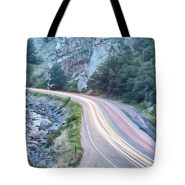 Boulder Canyon Drive And Commute Tote Bag by James BO  Insogna