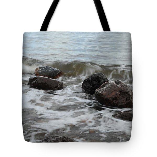 Boulders Tote Bag by Randi Grace Nilsberg