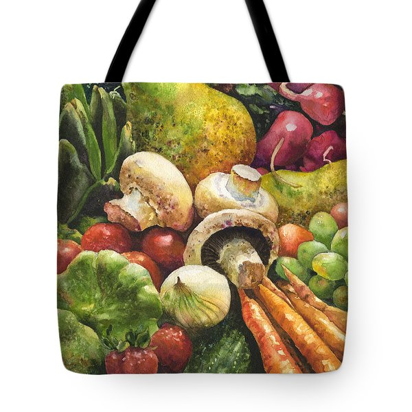 Bountiful Tote Bag by Anne Gifford