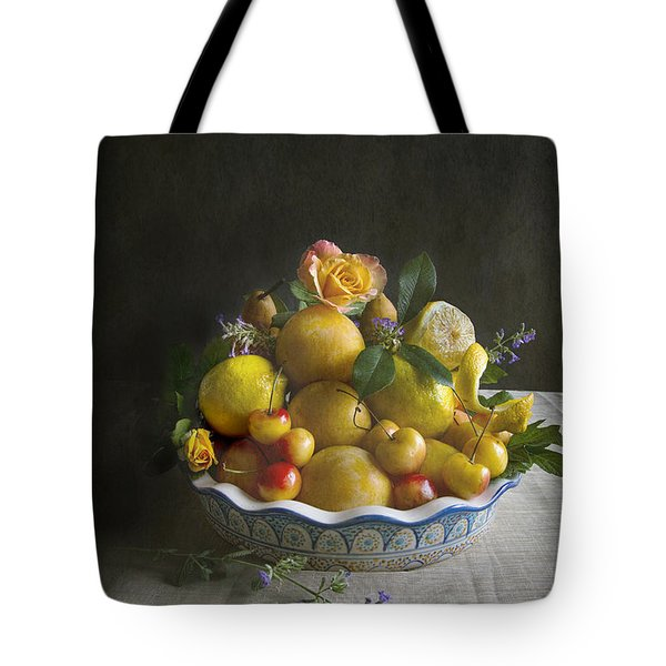 Bounty Pile High Tote Bag by Elena Nosyreva