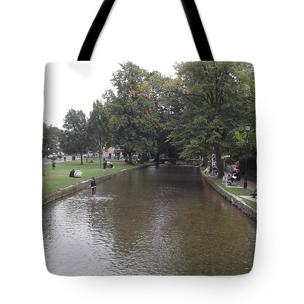Bourton On The Water Tote Bag by John Williams