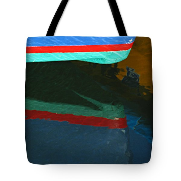 Bow Reflection Tote Bag by Juergen Roth