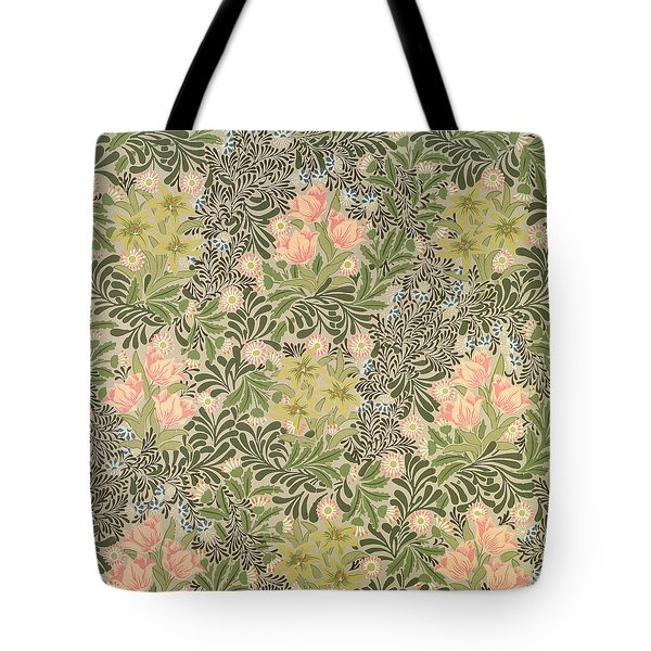 Bower Design Tote Bag by William Morris