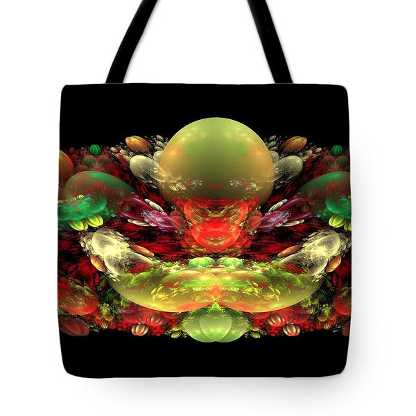 Bowl Of Fruit Tote Bag by Bruce Nutting