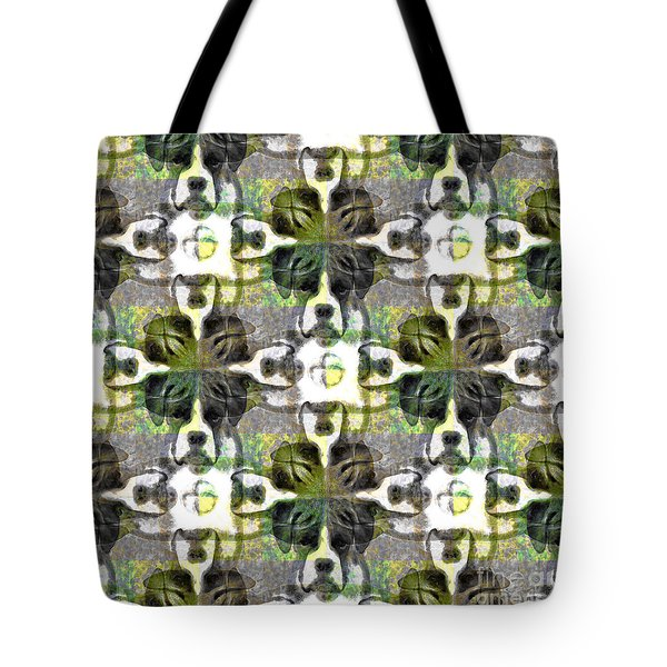 Boxer Abstract 20130126v1 Tote Bag by Wingsdomain Art and Photography