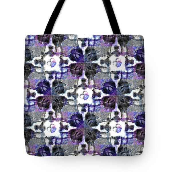 Boxer Abstract 20130126v3 Tote Bag by Wingsdomain Art and Photography