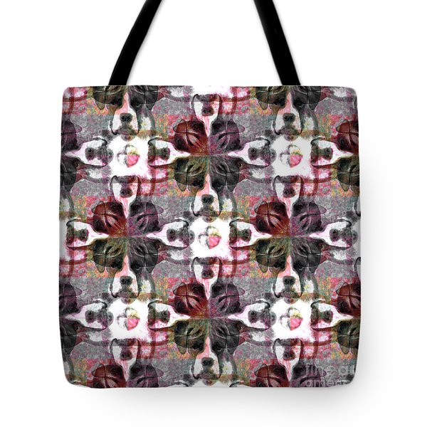 Boxer Abstract 20130126v4 Tote Bag by Wingsdomain Art and Photography