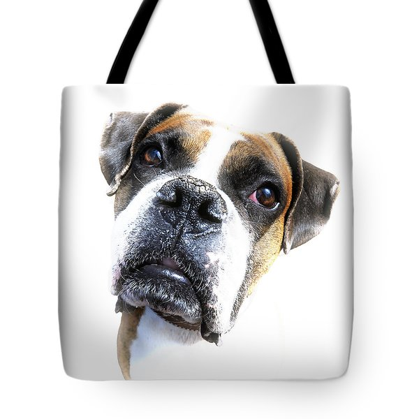 Boxer Expression Tote Bag by Susan Leggett