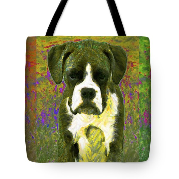 Boxer Three 20130126 Tote Bag by Wingsdomain Art and Photography