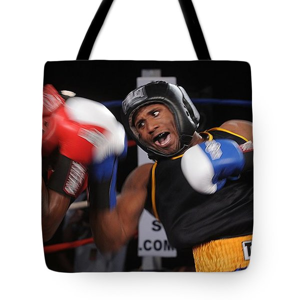Boxing Tote Bag by Mountain Dreams