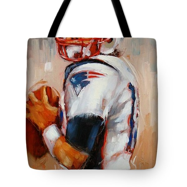 Brady Boy Tote Bag by Laura Lee Zanghetti