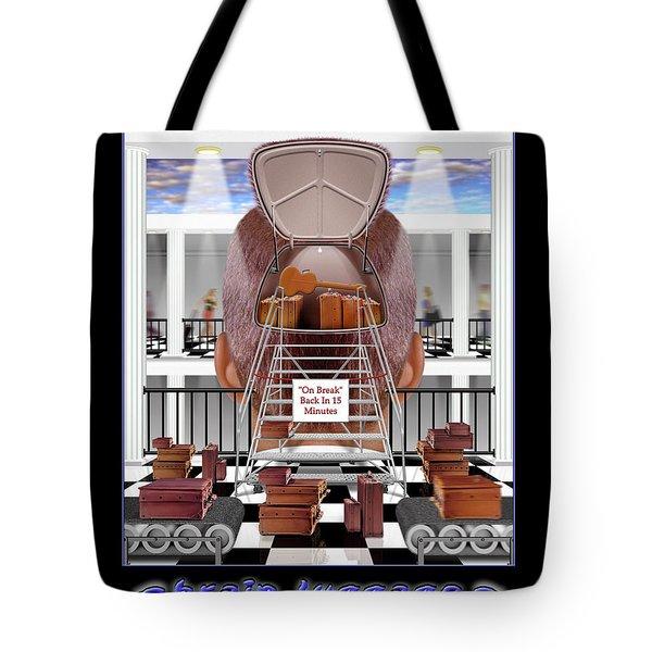 Brain Luggage Tote Bag by Mike McGlothlen
