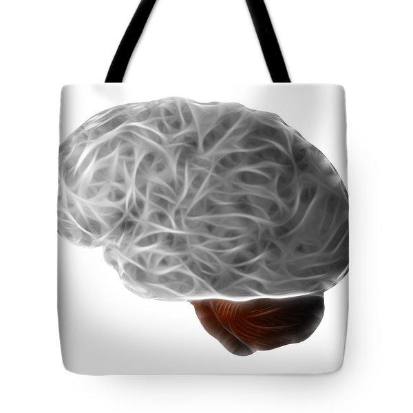 Brain Tote Bag by Michal Boubin