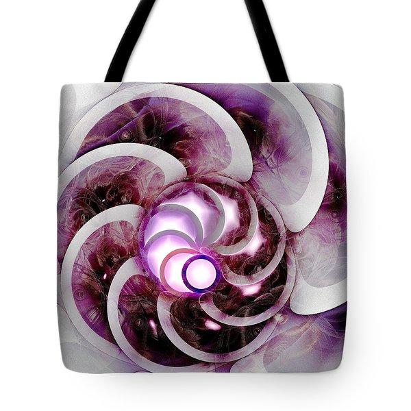 Brain Waves Tote Bag by Anastasiya Malakhova