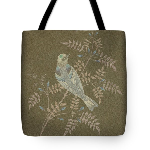 Bramble Finch-1 Photoart Tote Bag by Becky Hayes