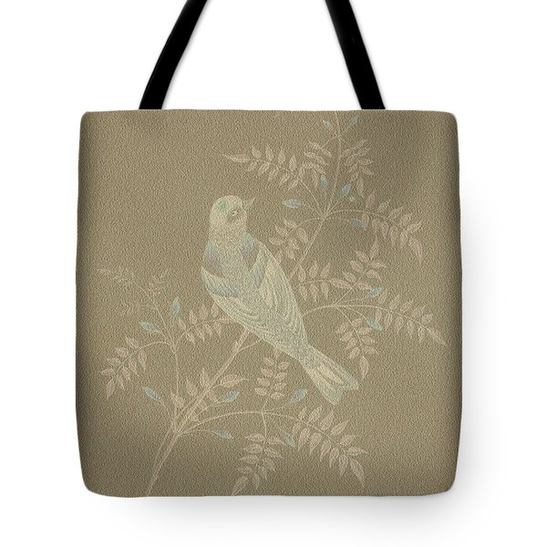 Bramble Finch-2 Photoart Tote Bag by Becky Hayes