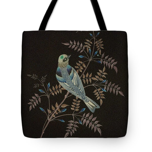 Bramble Finch-4 Photoart Tote Bag by Becky Hayes