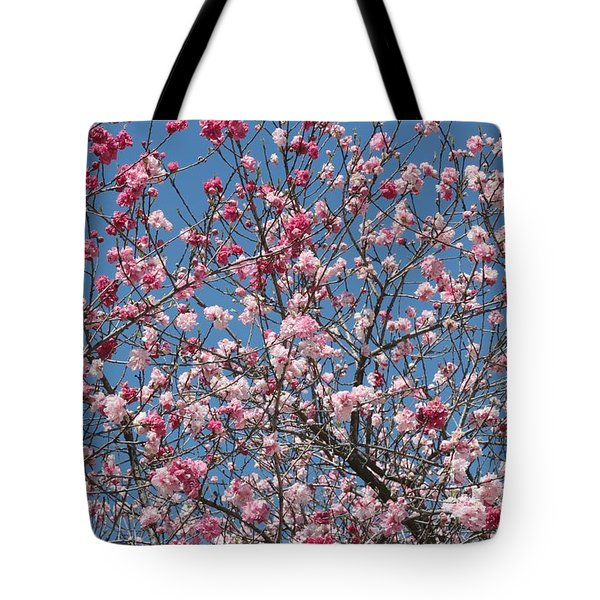 Branches And Blossoms Tote Bag by Carol Groenen
