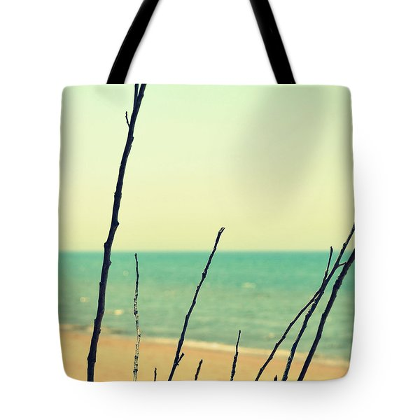 Branches on the Beach Tote Bag by Michelle Calkins
